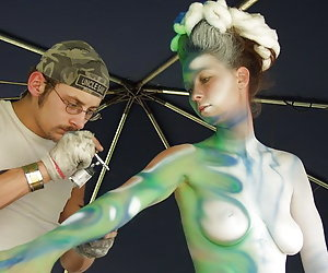 Brilliant body art