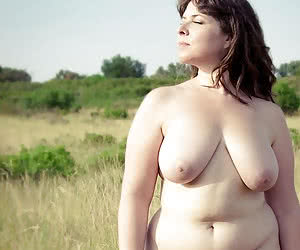 Nude fat mothers with sexy chubby bodies