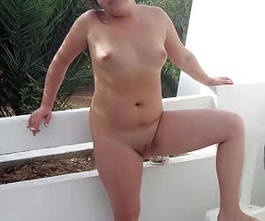 Nude sunbathing fat grannies who are a nudists