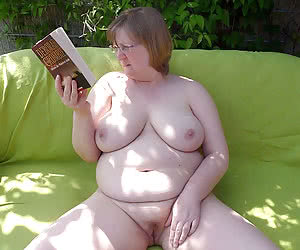 Sexy and fuckable plump nudist mature bodies