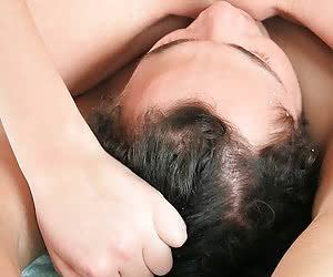 Two dominating bitches Anna and Masha using their slave's face to satisfy their lust