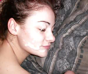 A pretty ladies taking a facial from a guy pics