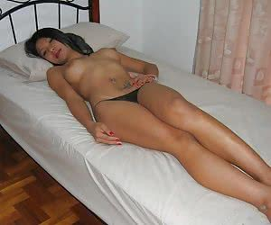 Ladyboy's very private solo