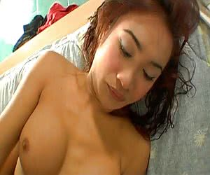 Tight and sweet ladyboy asshole penetrated by her boyfriend