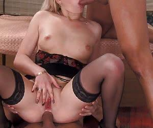 Fucked by two guys