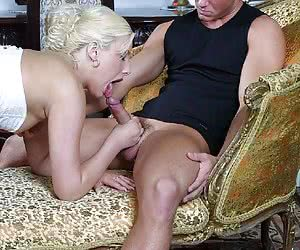 Two guys for one slut