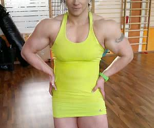Beautiful muscle women 18+.