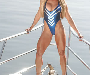 Big muscular women created.