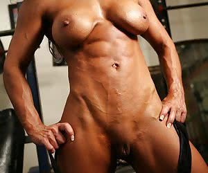 Bodybuilders in Heat