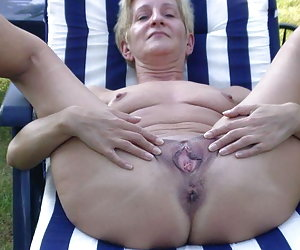 mature wife outdoor
