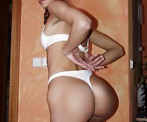 Lusty girls with tiny tits and pert asses from the famous night clubs