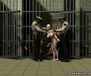 Tranny Prison Fun With The Guards