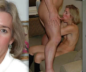 Hidden photo of a school teacher before and after her husband come home
