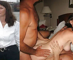 42 german housewife gets two dicks after