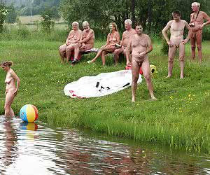 Mature Nudists And Public