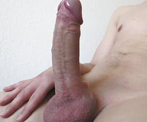 My thick white cock series