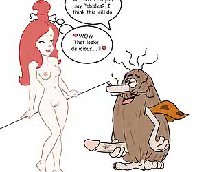 Stone Age red-haired hottie always has a dick in twat
