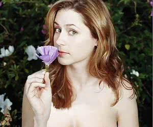 A lot of hot photos of Jenna Fischer alone or playing with someone's cock!