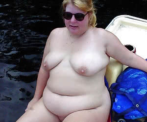 Chubby mature naturist housewives