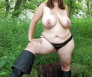 Middle aged ladies with big tits