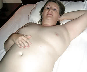 Fat young amateurs, some with a small tits