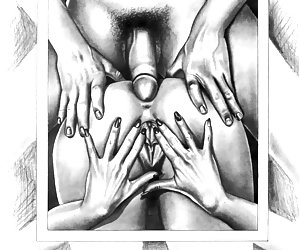Classic adult comics with a lot of nasty sex