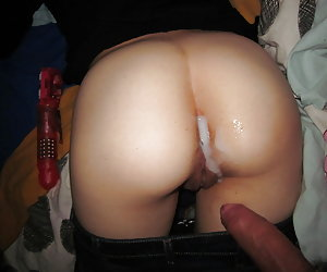 Anal and pussy creampie gellery