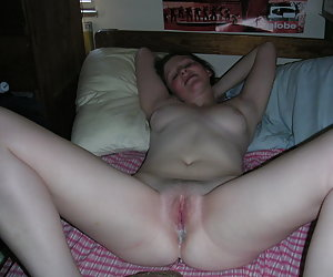 My wife in creampie gal