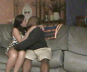 Fucking black men feels so good when your hubby is watching