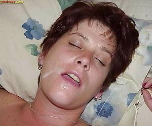Amateur cumshots and facials