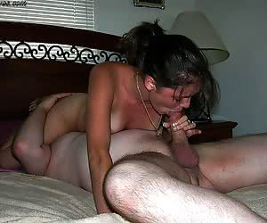 Real amateur facial cumshots