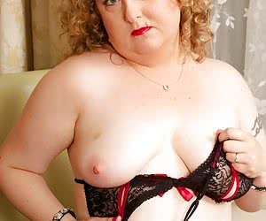 Hi Guys, How do you like my skimpy black lace lingerie with Red Trim, makes me feel really sexy, but its not on for long