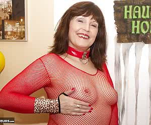 Hi Guys it was Halloween and I was shooting Morgan Robinson in her Horny Red Devil Outfit,  Now It Dont leave much to th