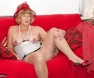 Hi Guys, Time to Strip off and play, Im wearing my Red dress and of course my matching Red Hat, but under my dress I hav