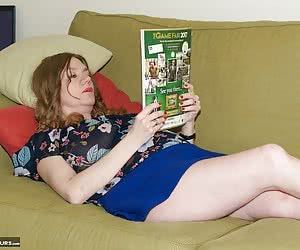 I was away in Yorkshire staying in a Holiday Cottage and I was just chilling reading a Magazine but I was feeling very H