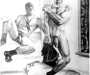 Gay Drawings-hot gay art