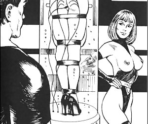 Perverted experimentes in the comics `Aliens`