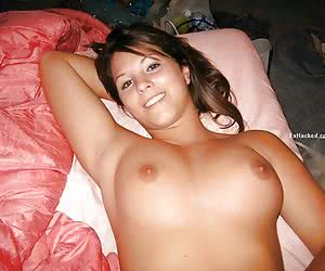 Pictures from Social Network of amateur ex-GF giving blowjob