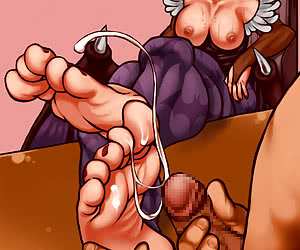 femdom hentai forced to eat own cum