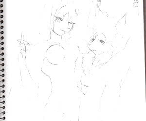 just some furry lesbians fucking