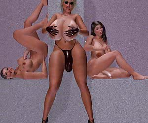 3D porn shemale
