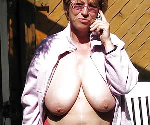 chubby grannies with big boobs