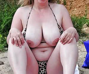 grannies with huge boobs