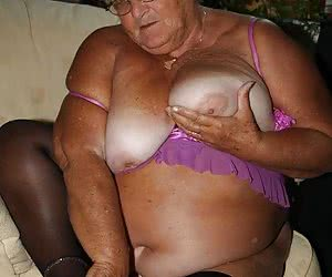 British Granny - 77 years old and a sex drive that no one man can handle. Grandmalibby is your favourite swinging granny that loves to fuck her site members