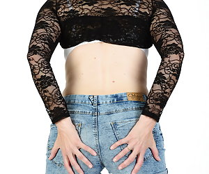Yes that's even a fine Bolero Jacket.Without bra underneath could be the yes so do not wear.Pants and knickers also down