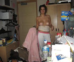 Awesome photos of naked amateur housewives.