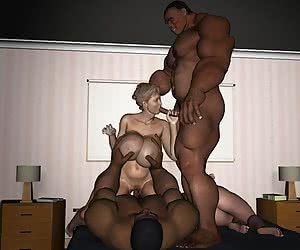 3d interracial cartoon free gallery