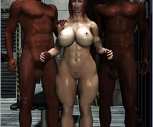 3D Interracial Mix