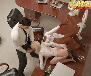 interracial 3d toons free gallery