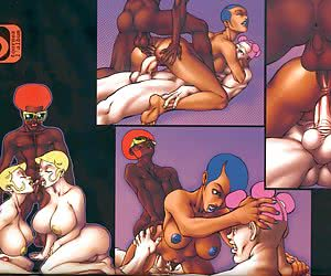 interracial drawing comics